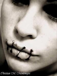 labios sellados