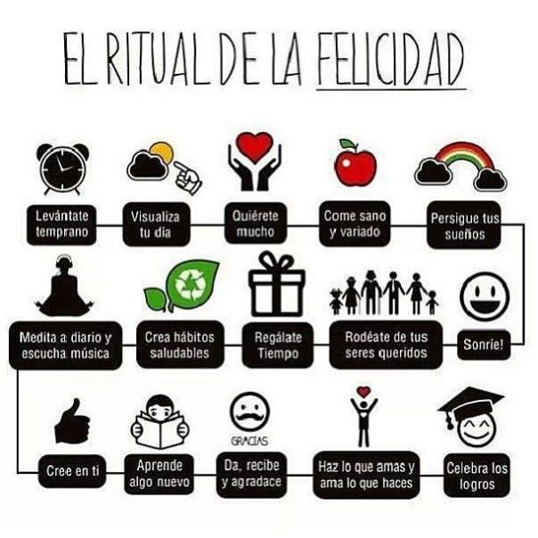 ritual felicidad